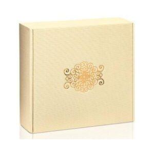 pudełko prezentowe kremowe